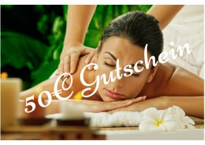 Wellness Massage Gutschein 50€ in Berlin Tiergarten