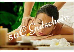 Wellness Massage Gutschein 50€ in Berlin Tiergarten